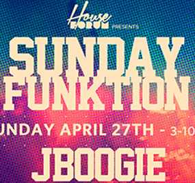 Sunday Funktion Day party at Audio Nightclub