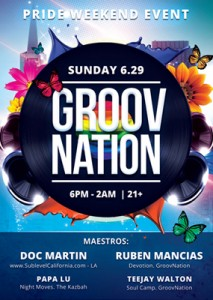 Groovnation (pride afterparty at Audio Nightclub