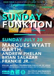 Sunday Funktion Party at Audio Nightclub